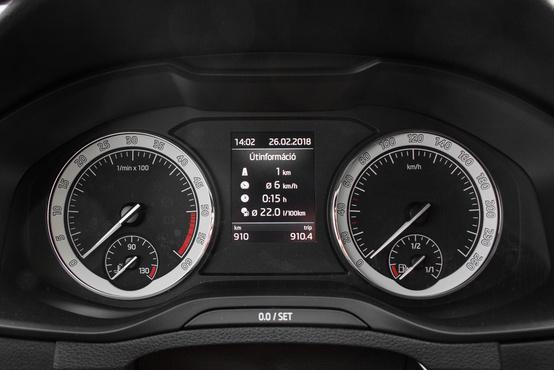 Kihuzatva zajos a TDI motor, cserében 6 liter körüli fogyasztással el lehet vele járni