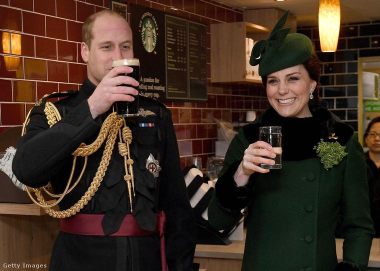 Mármint, hogy ő, Katalin hercegné sörözik