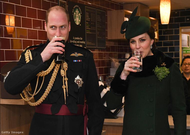 De tessék, Szent Patrik ünnepén zöldbe öltözött és fenékig kiivott egy pohár sört