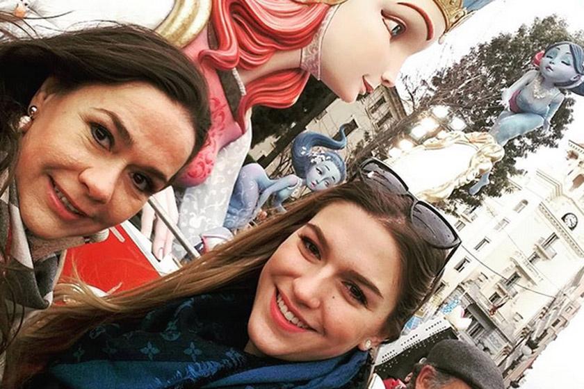 Gyönyörű nő lett Geszler Dorottya lánya - A 22 éves Laura örökölte anyja szépségét