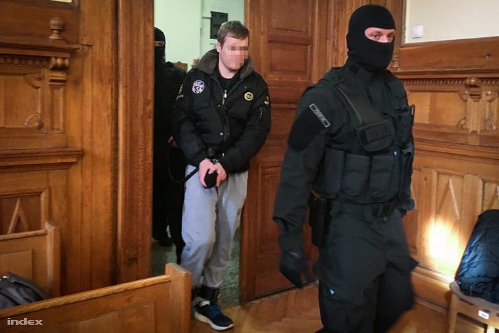 P. László a bíróságon 2018. február 26-án