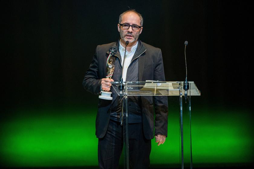 2018. március 11-én, a 3. Magyar Filmdíj gálaestjén, miután átvette a legjobb férfi főszereplőnek járó díjat.