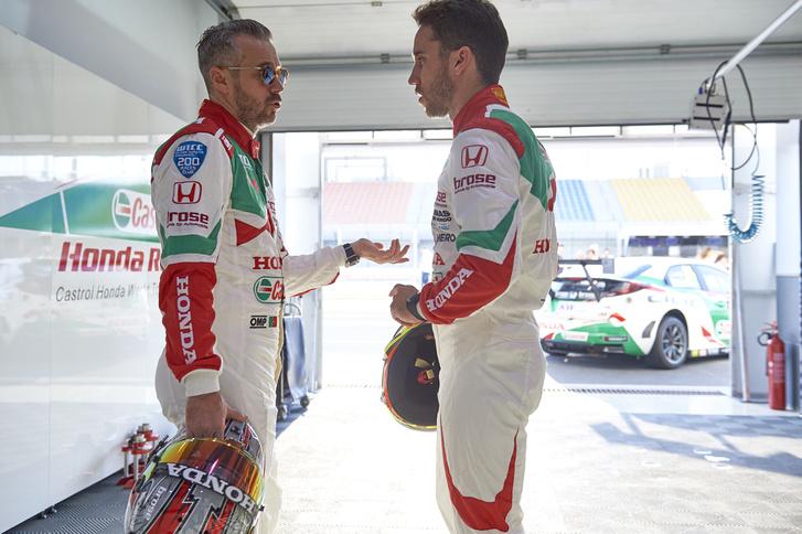 Tiago Monteiro és Esteban Guerrieri is Michelisz csapattársa volt a Honda gyári WTCC-csapatnál