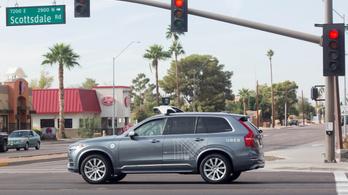 Halálra gázolt egy gyalogost az Uber önvezető autója