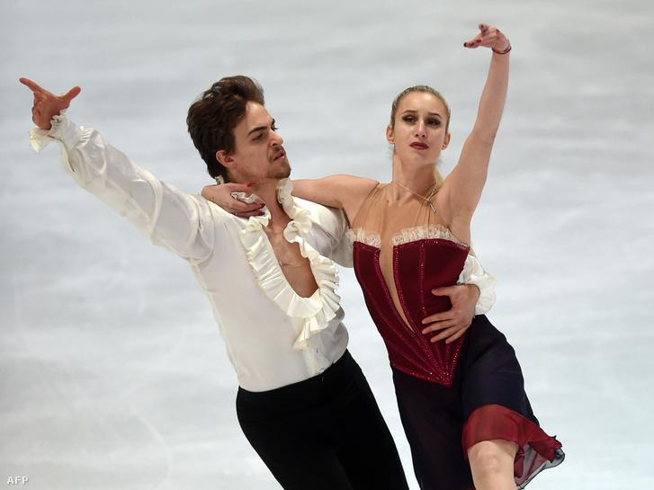 Anna Janovszkaja és Lukács Ádám
