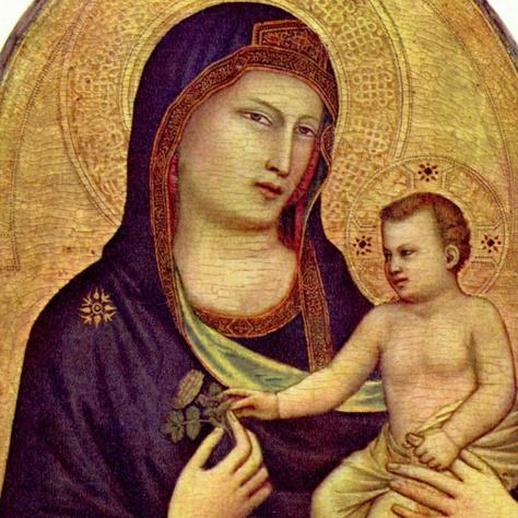 Giotto di Bondone: Madonna és a gyermek (1320 k.)