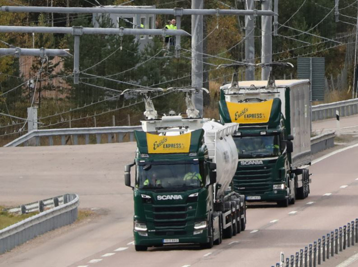 Forrás: Electric Road Sweden