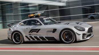 Minden eddiginél erősebb az F1 új biztonsági autója