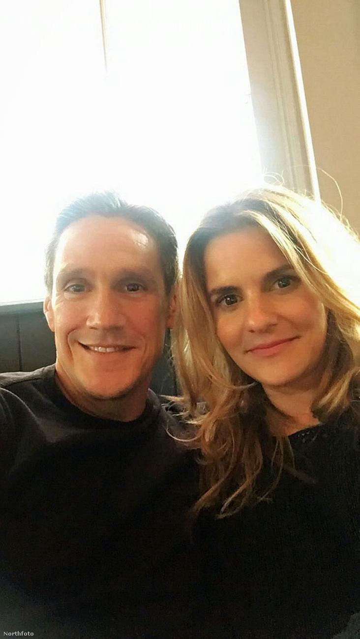 Ezen a képen egy brit pár látható, a 44 éves Michael Evangelou és a 37 éves Lina Dahlbeck