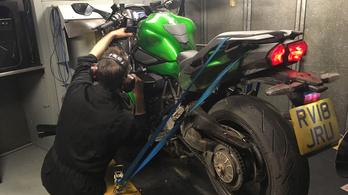 Fékpadi tapasztalatok: Kawasaki ZZR1400 vs. H2 SX