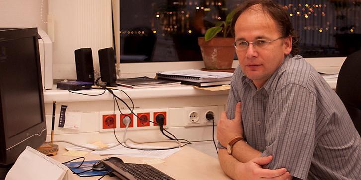 Vellai Tibor, az ELTE genetika tanszékének vezetője