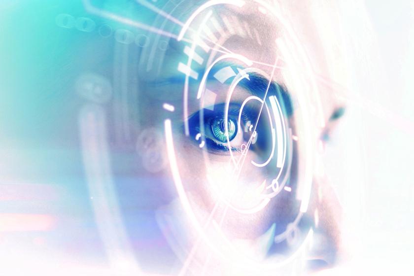 Futurisztikus szem-3x2