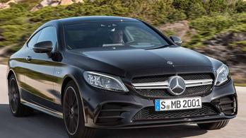 Itt az új kétajtós C osztályú Mercedes
