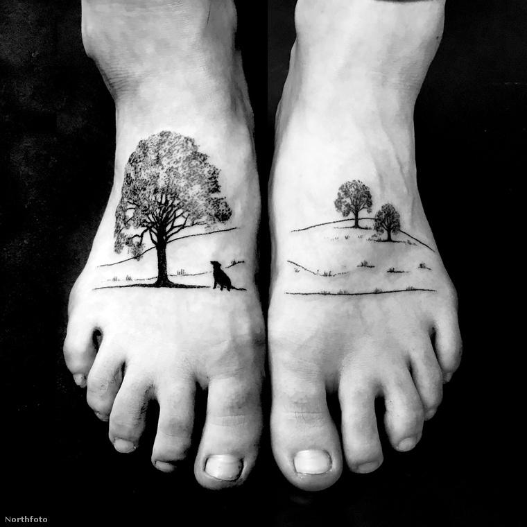 Lu egyébként csupán öt éve dolgozik tetoválóként, korábban grafikus volt egy reklámcégnél, ám végül azt a munkát otthagyta, hogy teljes időben a művészetére koncentrálhasson.Ez pedig úgy tűnik, eléggé bejött neki