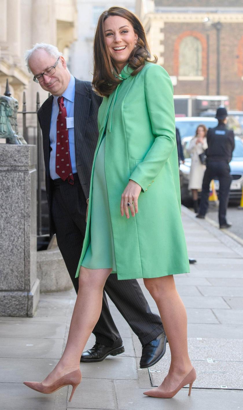 Katalin hercegné pocakja már óriási - alig néhány hét, és már meg is születik a legújabb hercegi csemete.