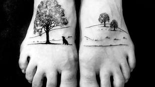 Ezek a gyönyörű rajzok lehetnek a világ legfájdalmasabb tetoválásai