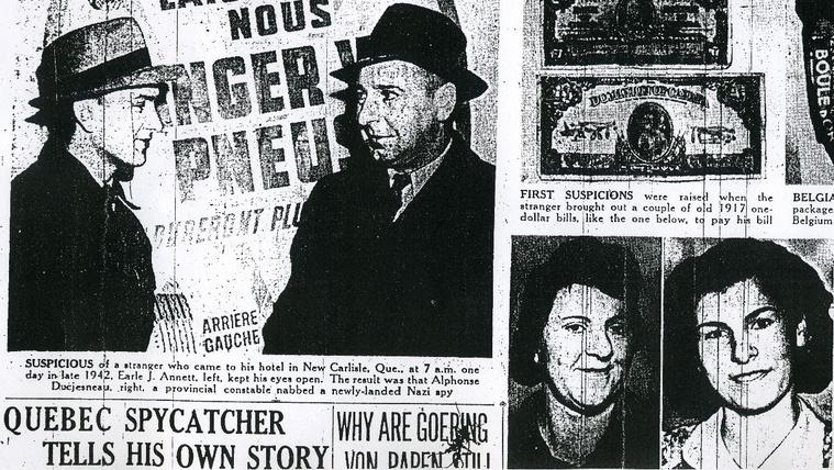 Fél nap alatt bukott le a legbénább náci kém