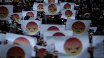Levelet kaptak a rendőrségtől a februári diáktüntetés résztvevői