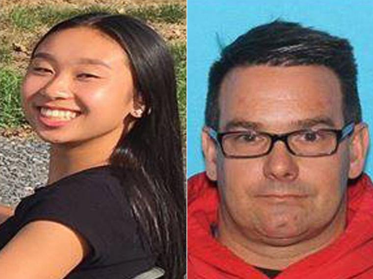 Amy Yu és Kevin Esterly rendőrségi fotója abból az időszakból, amikor még keresték őket.