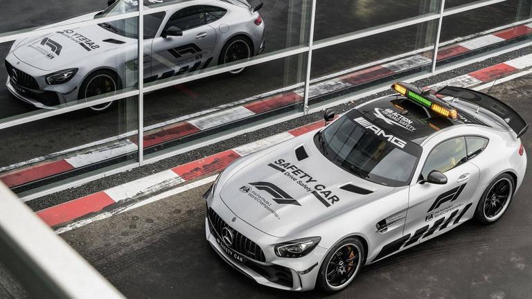 A valaha volt leggyorsabb Safety Car az F1-ben