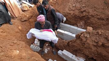 Gyerekeket bombáztak orosz gépek Szíriában
