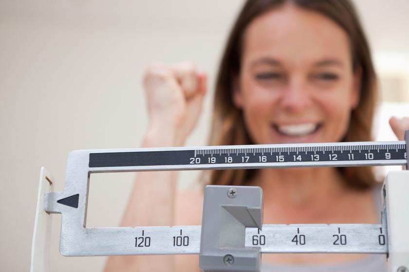 Három hét alatt 1 kg mínusz, az normális?