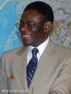 Az apa, Teodoro Obiang