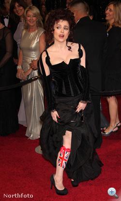Helena Bonham Carter viccel