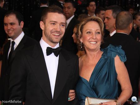 Justin Timberlake és édesanyja, Lynn Harless