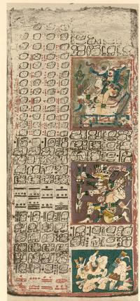 A Drezdai kódex második lapja