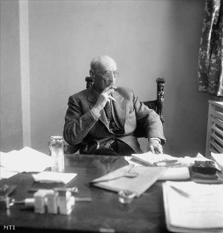 Károlyi a 1940-es években (Fotó: Várkonyi László)