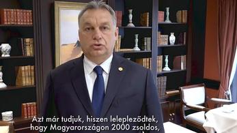 2000 Soros-zsoldossal riogat a kormány