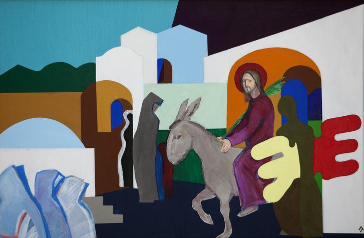 2018-03-22-Kiálllítások-Jézus élete, … engedjétek hozzám a gyerm