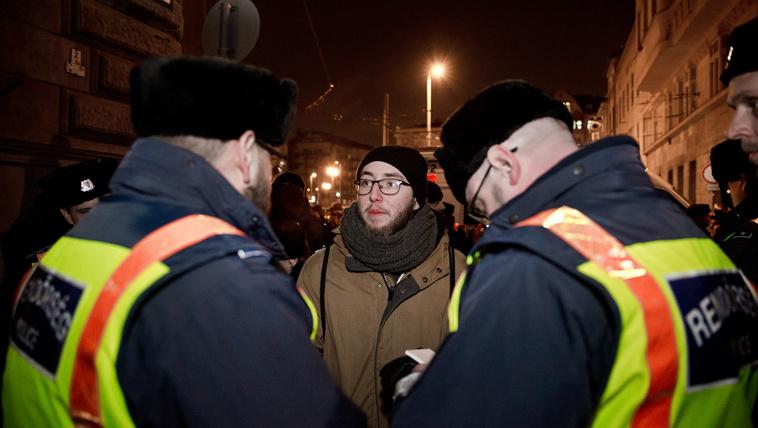 50 ezres büntetést kapnak a spontán diáktüntetés résztvevői