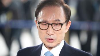 Újabb volt dél-koreai elnököt tartóztatnak le
