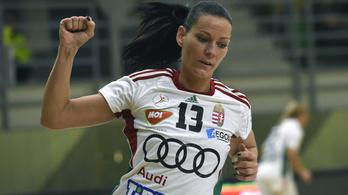 A világ legjobb női kézilabdázója, Görbicz Anita elköszönt