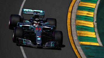 Hamilton-duplával indult az F1-szezon