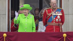 Nincs jól II. Erzsébet férje, a 96 éves Fülöp herceg