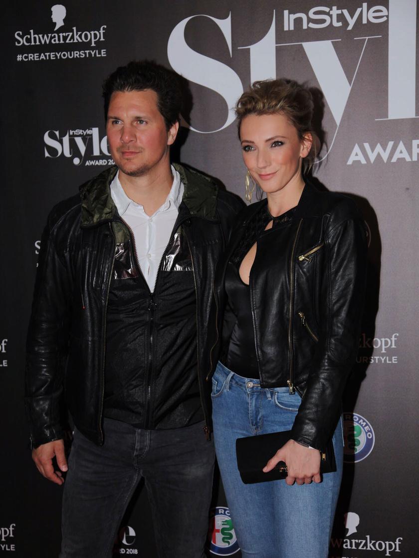Borbély Alexandra és Nagy Ervin az InStyle - Style Award gála legdögösebb sztárpárját alkották.