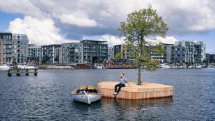 Koppenhága egy úszó szigettel lett még menőbb