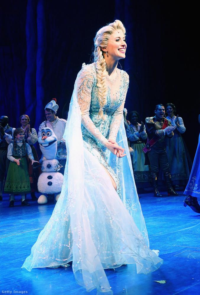 Csütörtökön volt a hivatalos premierje a Broadway-en a Frozen, azaz Jégvarázs című Disney-rajzfilmből készült musicalnek