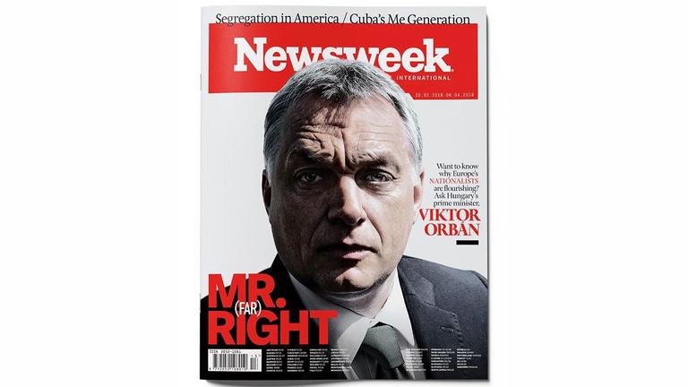 Orbán a Newsweek címlapján: Mr. Szélsőjobb
