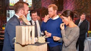 """Ilyen lesz Harry és Meghan """"szokatlan"""" esküvői tortája"""