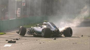 Hamilton pályacsúccsal, félelmetes előnnyel vitte az ausztrál pole-t, Bottas odaverte magát