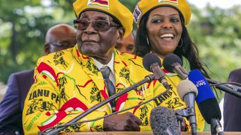 Robert Mugabe felesége állhat egy zimbabwei orvvadász hálózat mögött