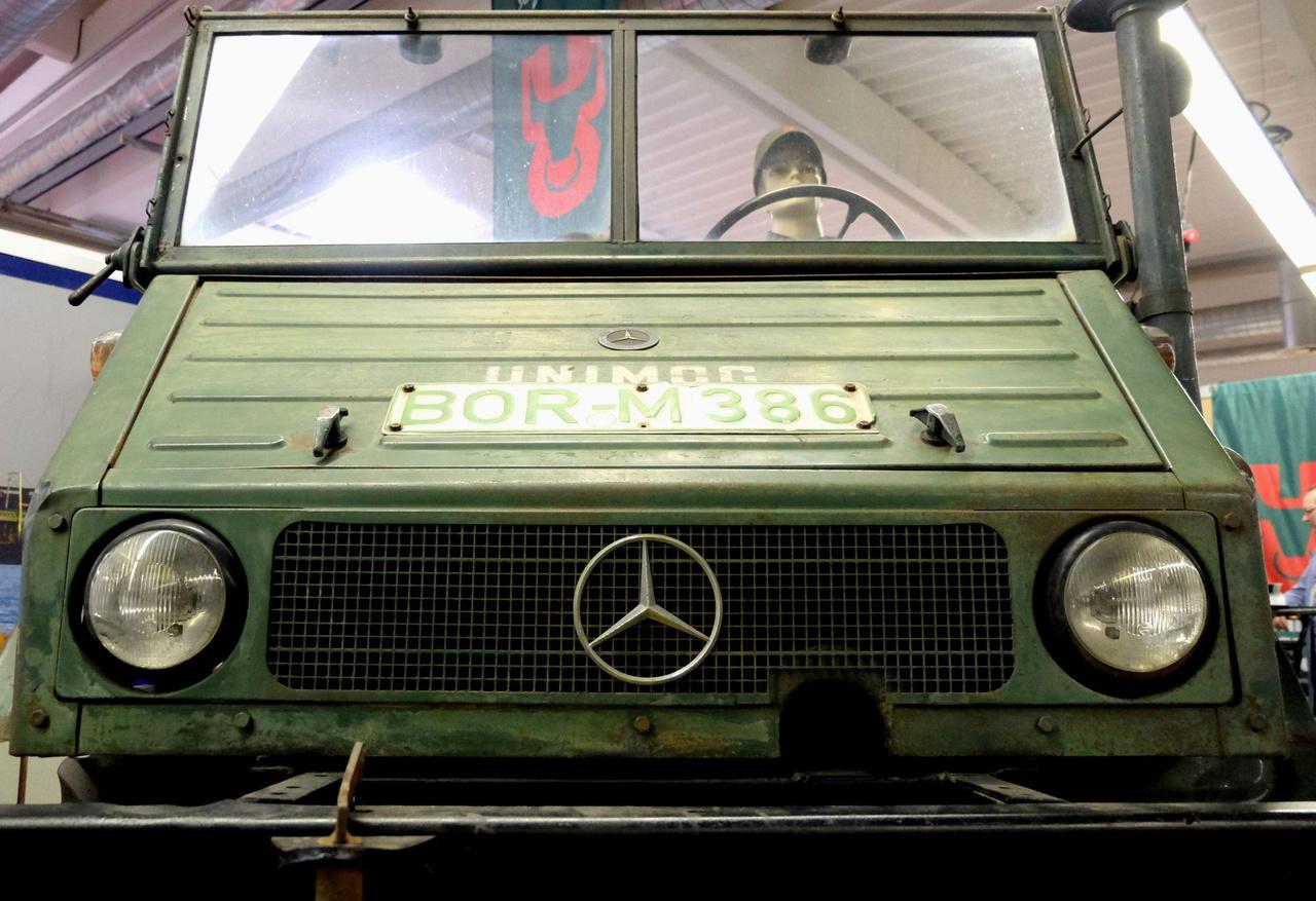 Mercedes-Benz Unimog - 1956