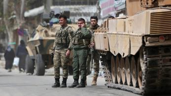 A teljes Afrín régiót a törökök ellenőrzik