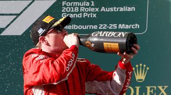 Räikkönen: Legalább a nap se sütött a szemembe