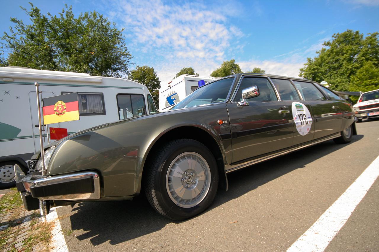 Honecker, az NDK vezetője imádta a nyújtott CX-eket. Ezek egyébként a svéd Nilsson cégnél készültek.