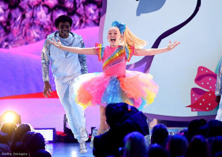 Bizonyos JoJo Siwáról van szó, 14 éves, amerikai táncos-énekes Youtube-sztár